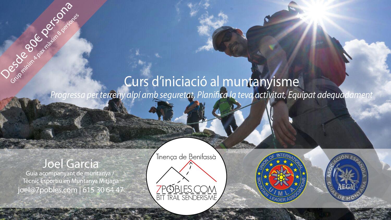Curs d'iniciació al muntanyisme