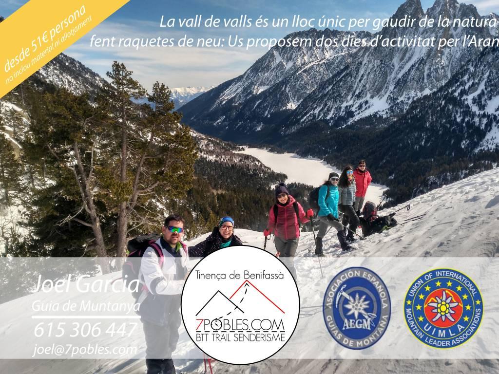 2 dies de raquetes de neu per la Vall d'Aran (nivell 2)