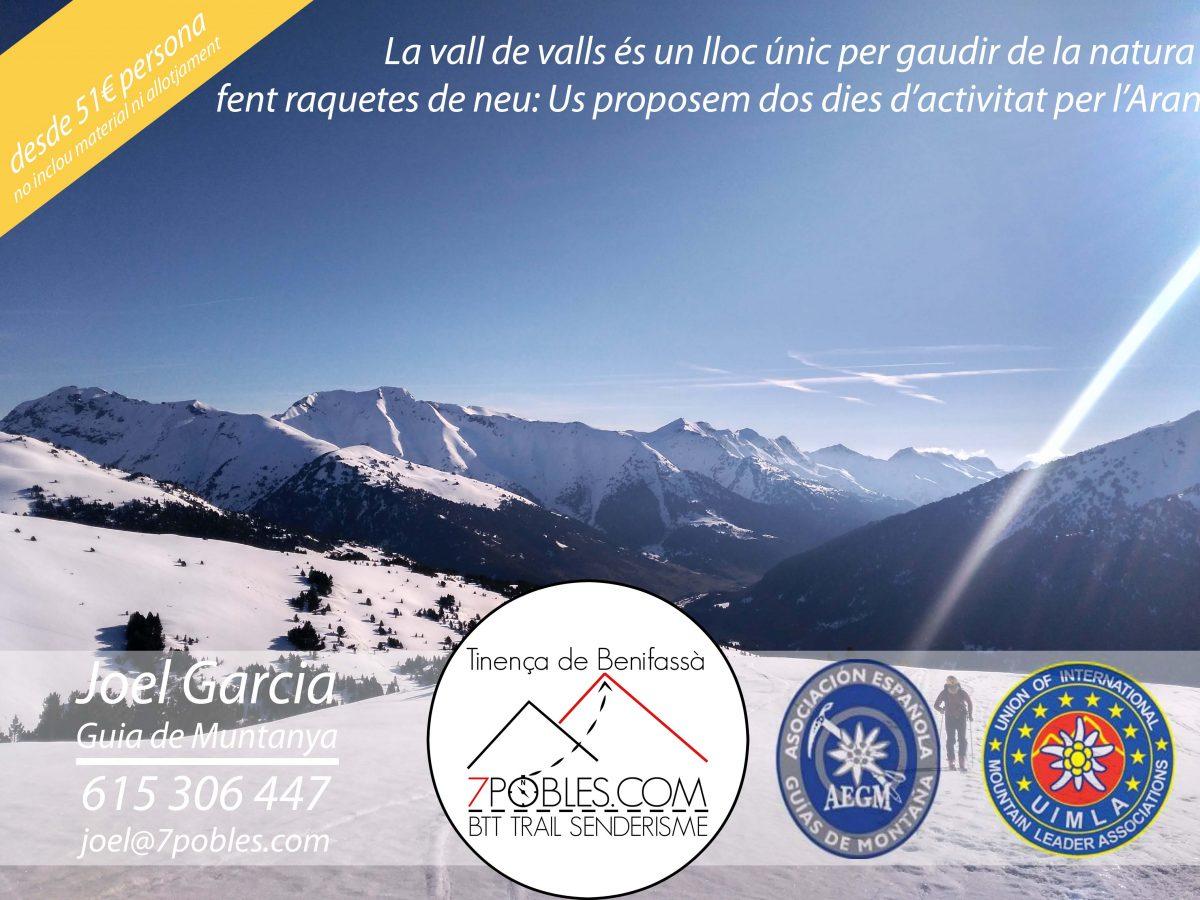 2 dies de raquetes de neu per la Vall d'Aran (nivell 2) @ Beret | Boixar | Comunidad Valenciana | España
